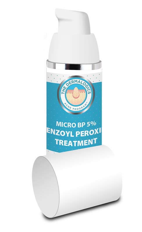 Micronized Benzoyl Peroxide Treatment 5% - Highly effective, deep penetrating,  targeted antibacterial action for acne.