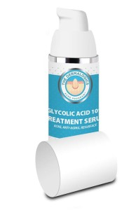 Glycolic Acid Serum 10% - Resurfacing and brightening serum for acne, skin discolrations, antiaging. Great for body acne.