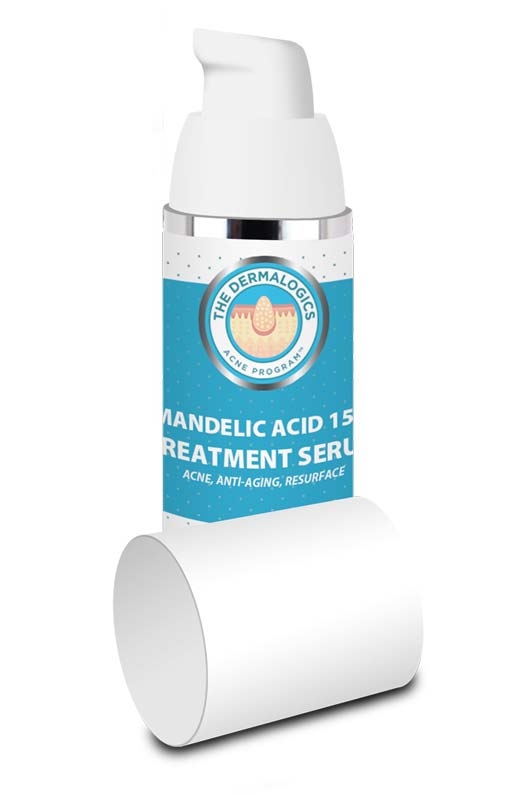 Mandelic Acid Serum 15% - Strong and effective serum for acne and antiaging. Clears acne and skin discolorations, while smoothing away wrinkles.
